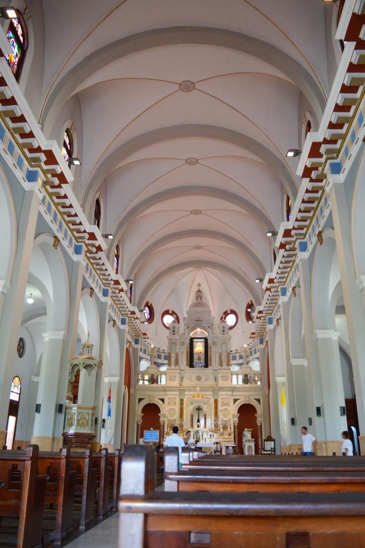 Inside Basilica del Cobre, Santiago de Cuba, Cuba.jpg