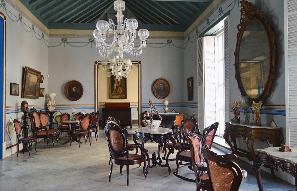 Inside Casa de Diego Velazquez, Santiago de Cuba, Cuba 1.jpg
