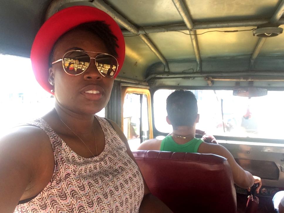 Me in the Truck Taxi, Santiago de Cuba, Cuba.jpg