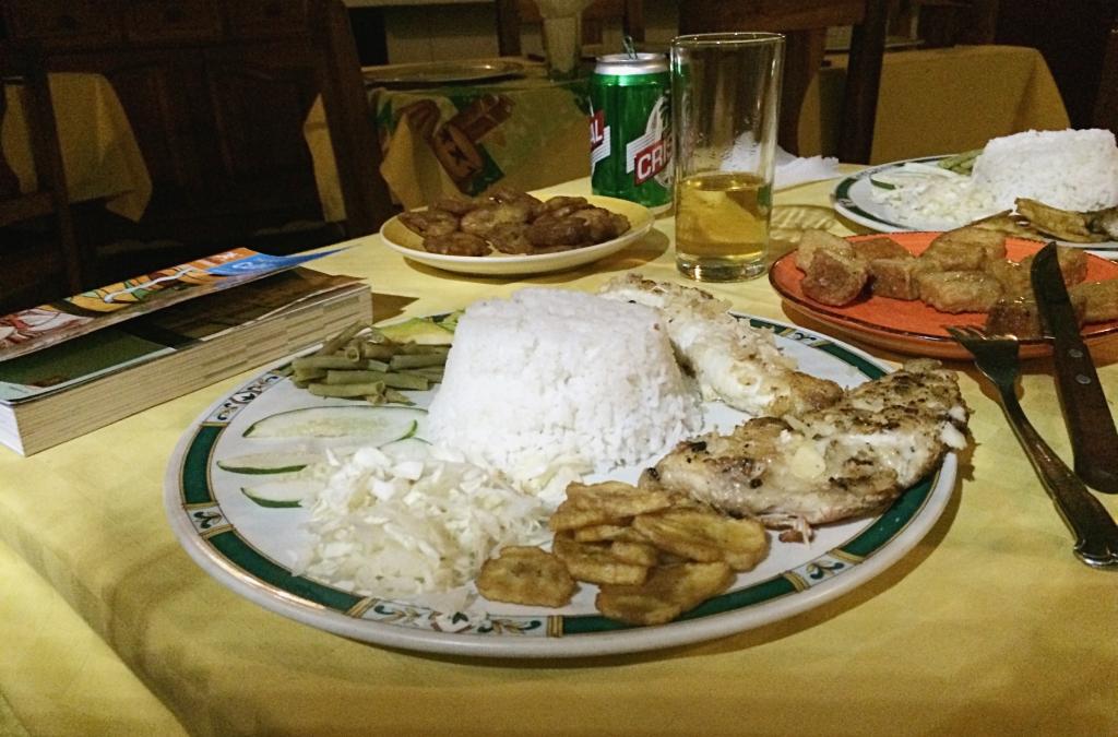 Meal at Casa Micaela, Santiago de Cuba, Cuba.jpg