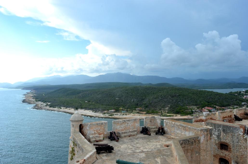 View from Castillo del Morro, Santiago de Cuba, Cuba.jpg