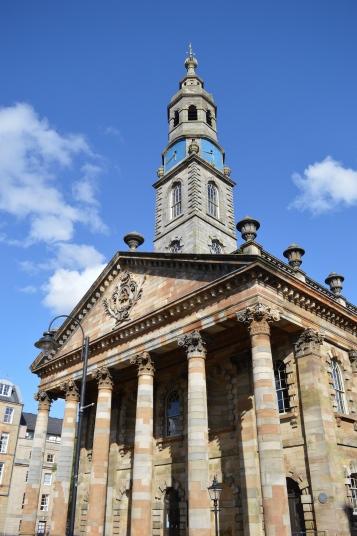 A nice building in Glasgow, Scotland