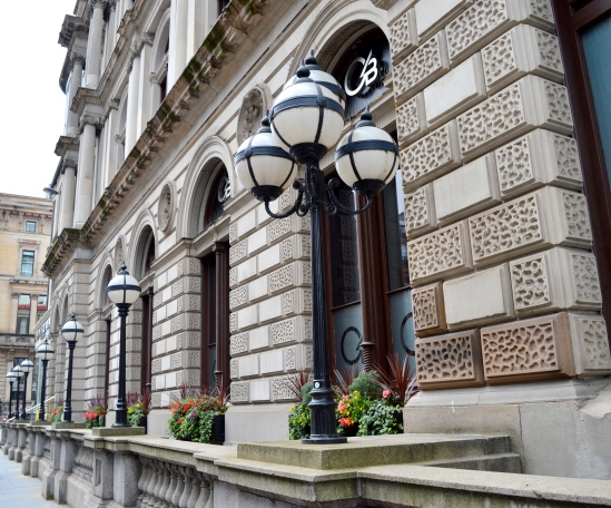 Cylesdale Bank Headquaters in Glasgow, Scotland