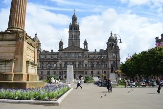 George Square, Glasgow, Scotland
