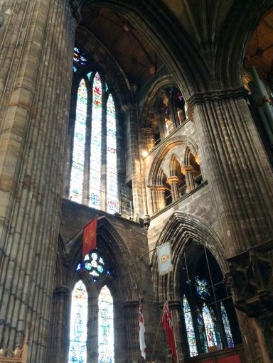 Inside St Giles Cathedral, Glasgow, Scotland 2.jpg