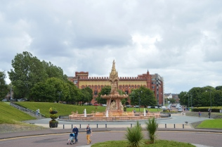 The Doulton Fountain, Glasgow Scotland