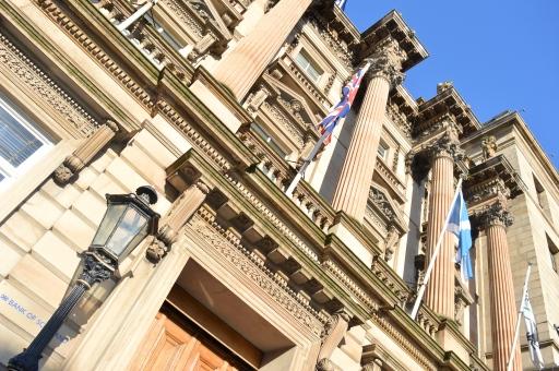 Bank of Scotland Building, Edinburgh, Scotland
