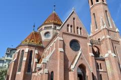 Calvinist Church, Budapest, Hungary