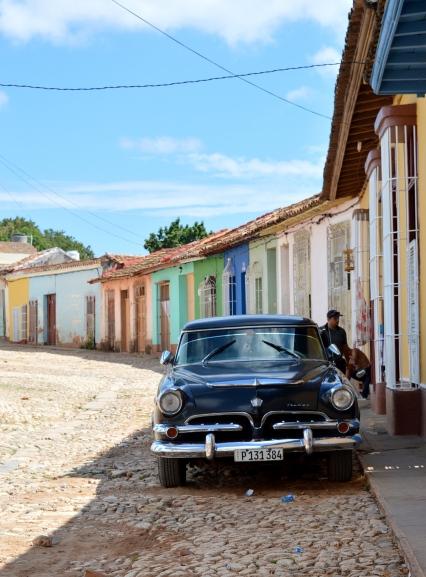 Classic Car, Trinidad, Cuba