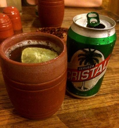 Cristal Beer, Taberna La Bojita, Trinidad, Cuba