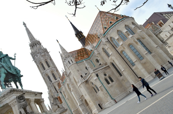 Fishermans Bastion, Budapest, Hungary 2
