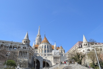 Fishermans Bastion, Budapest, Hungary