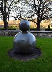Gary Hume, Back of Snowman, IMoMa, Dublin, Ireland