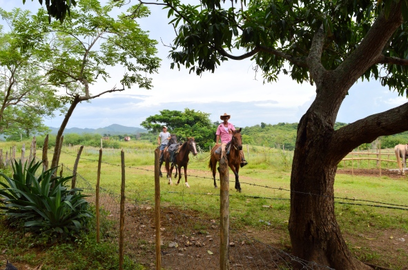 Horse Riding at Hacienda Guachinango, Trinidad, Cuba
