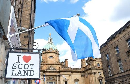 I love Scotland, Edinburgh