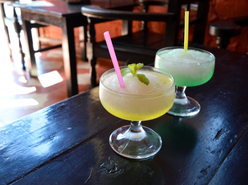 Iced Daiquiries at Fando Brother, Trinidad, Cuba