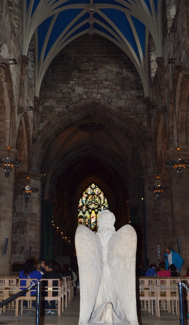Inside St Giles Cathedral, Edinburgh, Scotland