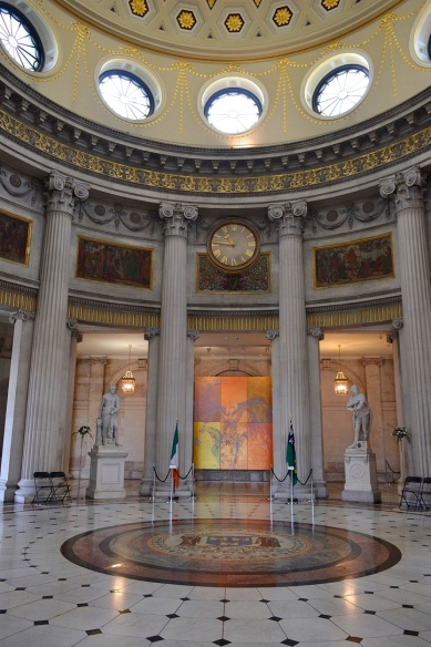 Inside The City Hall, Dublin, Ireland