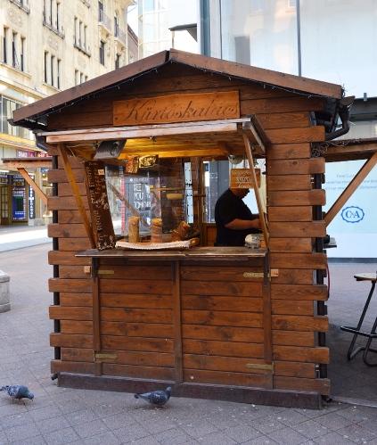 Kürtőskalács Shop, Budapest, Hungary