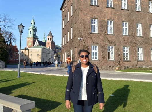 Me at Wawel Castle, Krakow, Poland