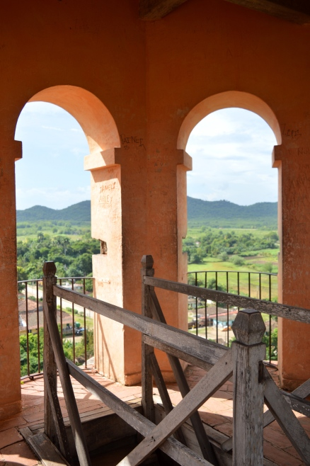 On the Manca-Inznaga Estate Tower, Trinidad, Cuba