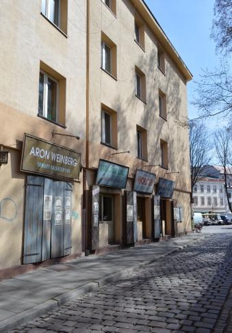 Replicas of old Jewish Shops, Jewish Quarter, Krakow, Poland