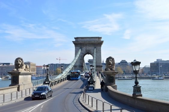 The Chain Bridge, Budapest, Hungary