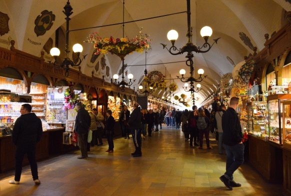 The Cloth Hall Market, Krakow, Poland