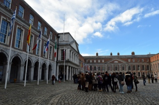 The Courtyard of Dublin Castle, Ireland