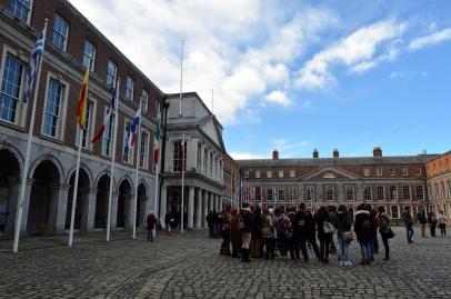 The Courtyard of Dublin Castle, Ireland