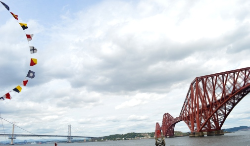 The Forth Rail Bridge, Edinburgh, Scotland