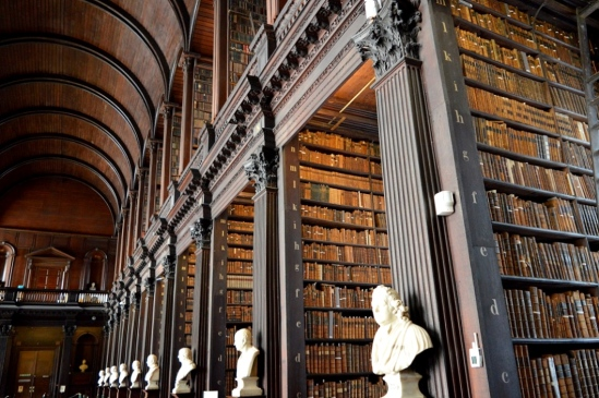 The Long Room Library, Trinity College, Dublin, Ireland