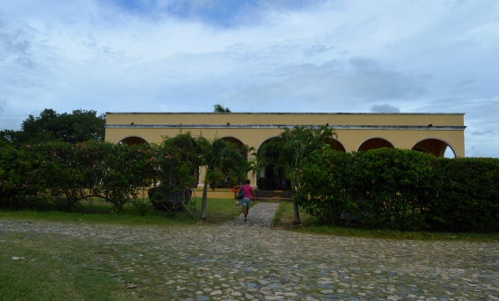 The main house of the Manca-Inznaga Estate, Trinidad, Cuba