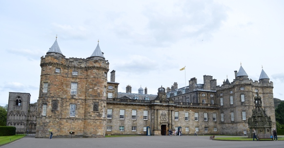 The Palace of Holyroodhouse, Edinburgh, Scotland 1