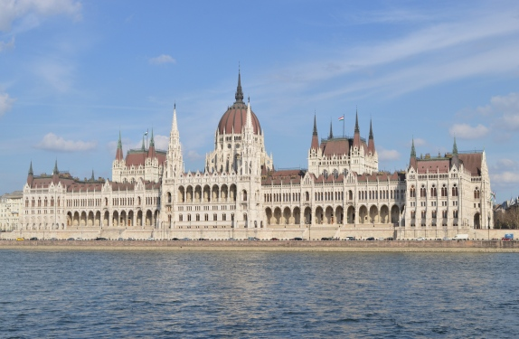 The Parliment Building, Budapest, Hungary 1