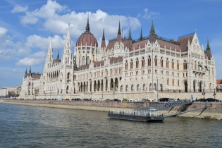 The Parliment Building, Budapest, Hungary