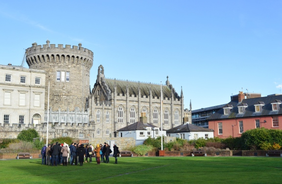 The Rear of Dublin, Castle