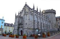 The Rear of Dublin Castle, Ireland
