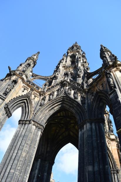 The Scott Monument, Edinburgh, Scotland 1