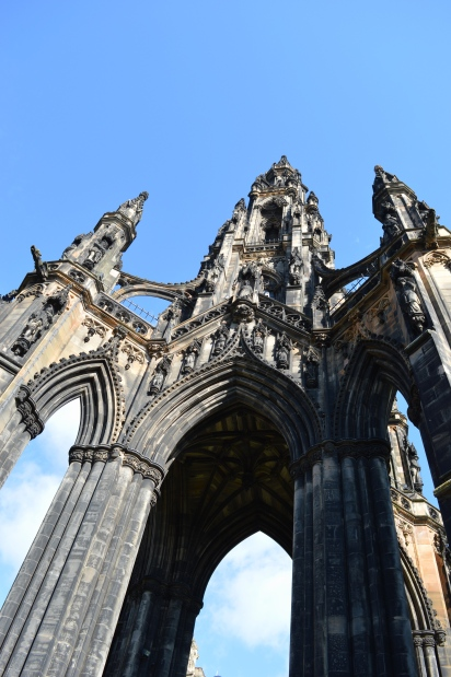The Scott Monument, Edinburgh, Scotland 1