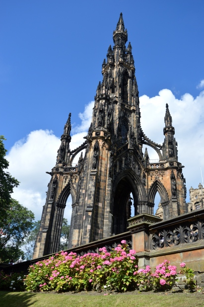 The Scott Monument, Edingburgh, Scotland