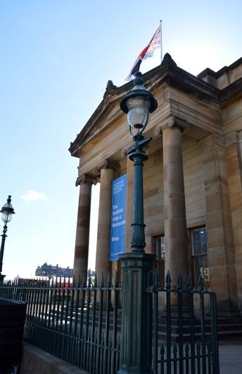 The Scottish National Gallery, Edinburgh, Scotland