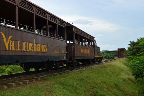 Valle de los Ingenios Train, Trinidad, Cuba