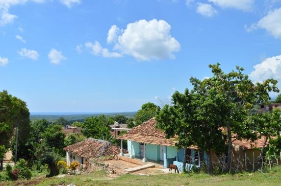 View from Ermita de la Popa, Trinidad, Cuba