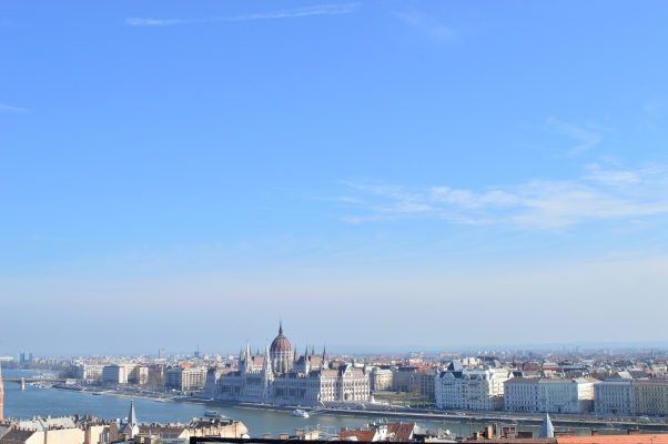 View from Fisherman Bastion, Budapest, Hungary