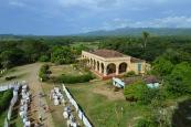 View from the Manca-Inznaga Estate Tower, Trinidad, Cuba