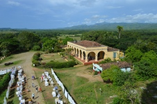 View from the Manca-Inznaga Estate Tower, Trinidad, Cuba