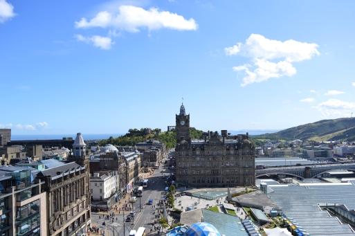 View from The Scott Monument, Edinburgh, Scotland 2