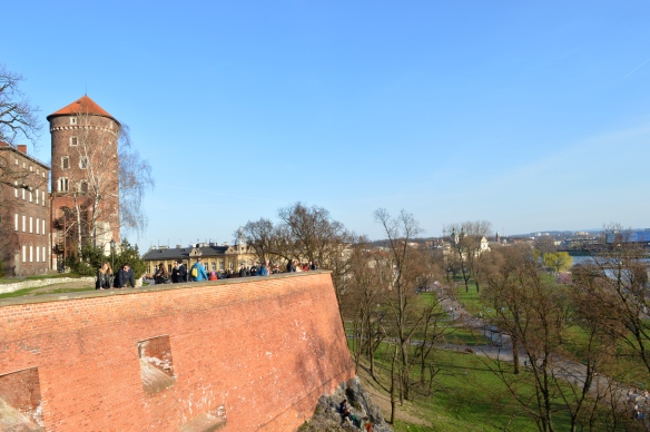 View from Wawel Castle, Krakow, Poland