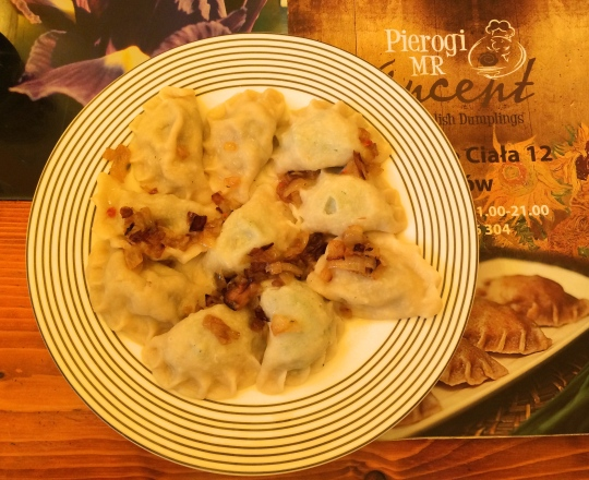 Yummy Pierogi from Pierogi Mr Vincent, Krakow, Poland